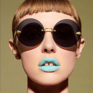 Karen Walker Disco Circus 60mm round sunglasses